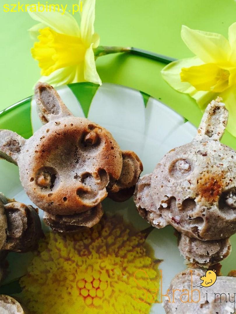 Muffiny nie tylko wielkanocne bez glutenu