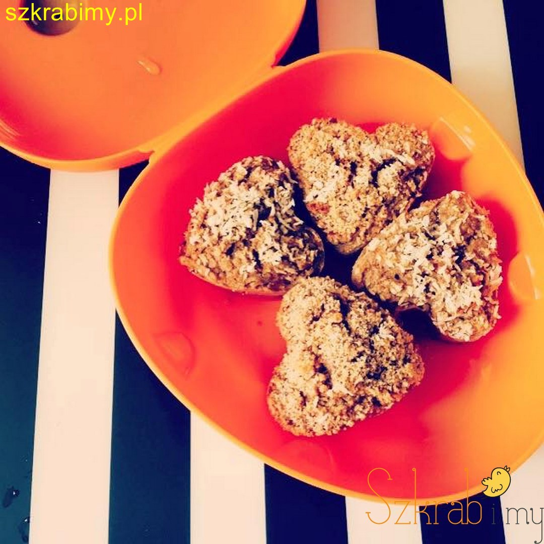 Słodkie muffiny bezglutenowe z dynią