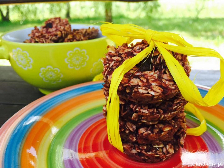 Ciasteczka owsiane…wystarczą 2 składniki :-)