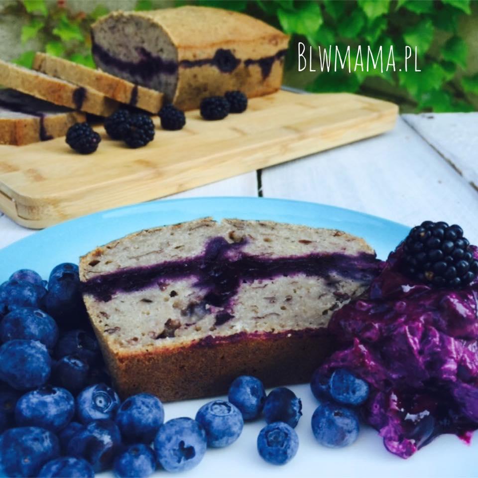 Chleb bananowy czyli tak naprawdę ciasto;-) Puszyste. Bezglutenowe, beznabiałowe BLW.