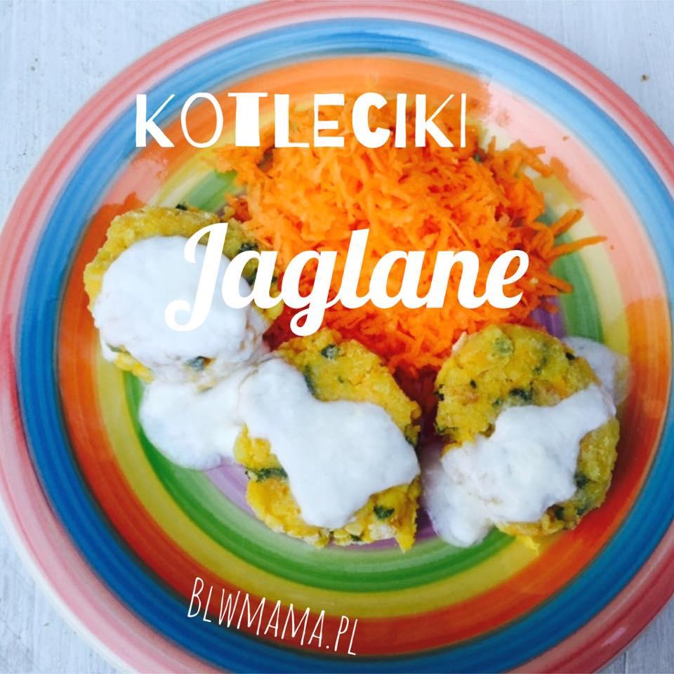 Kotleciki warzywno – jaglane czyli lekki obiadek. Bezglutenowe BLW.