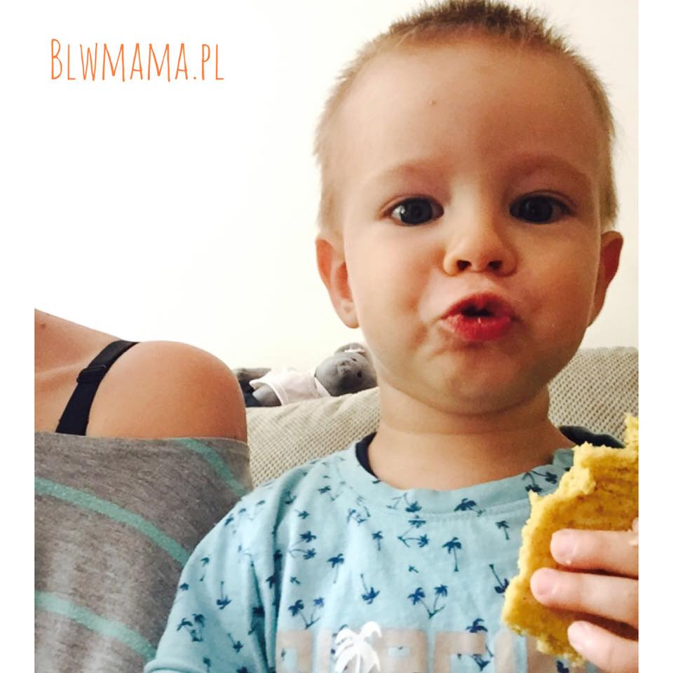 Słodki chlebek jaglano – dyniowy. Wzmacniamy układ odpornościowy. Bezglutenowe BLW.