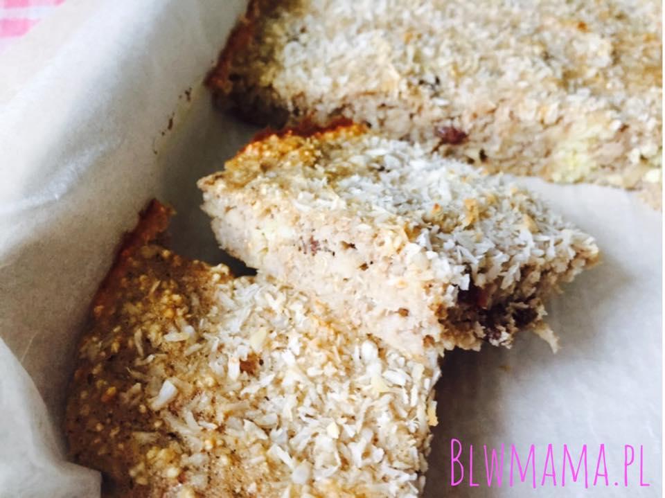Słodkie ciasto śniadaniowe w 5 min. Puszyste jak pianka marshmallow. Bezglutenowe BLW.
