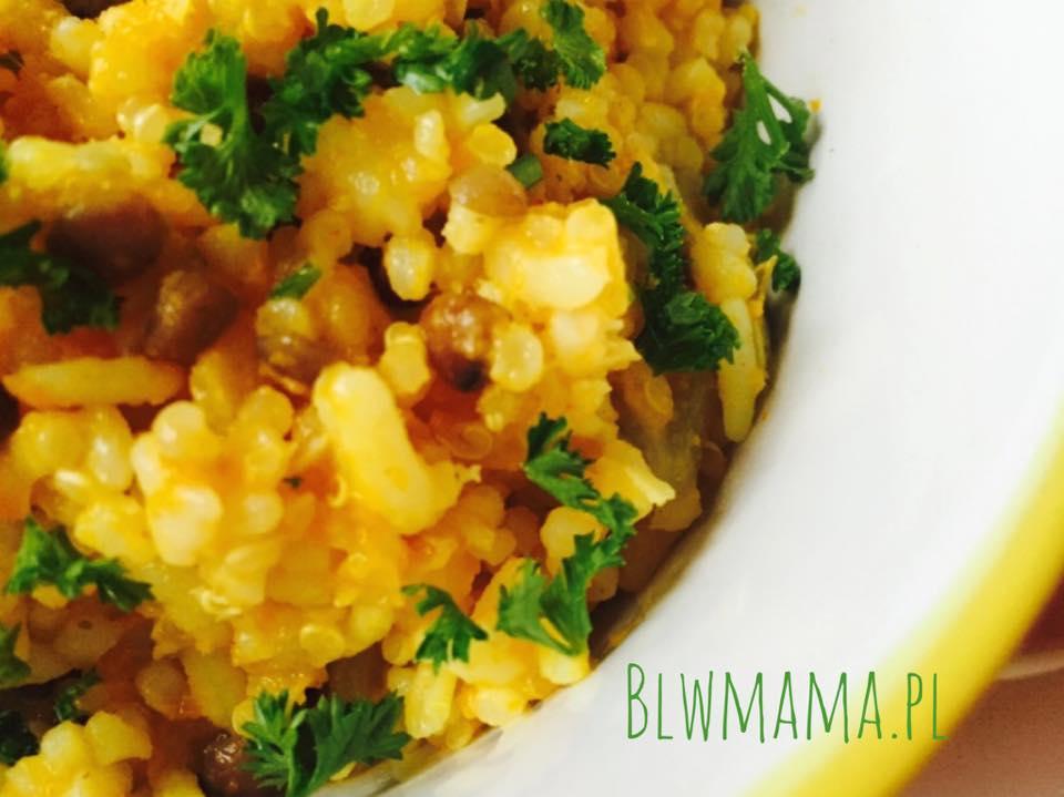 Dyniotto czyli ryż z dynią à la risotto. BLW