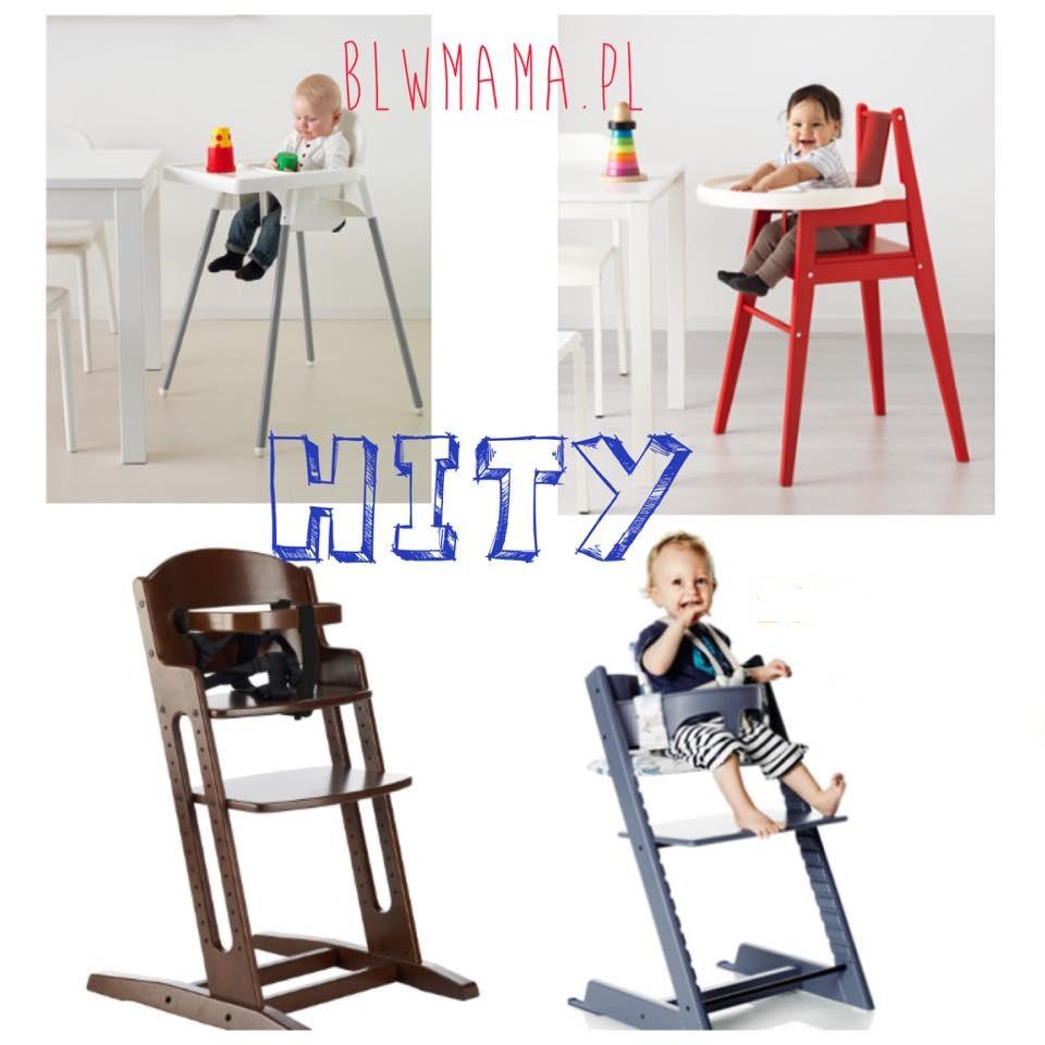 """Jak wybrać dobre krzesełko """"do karmienia""""? BLW w praktyce."""