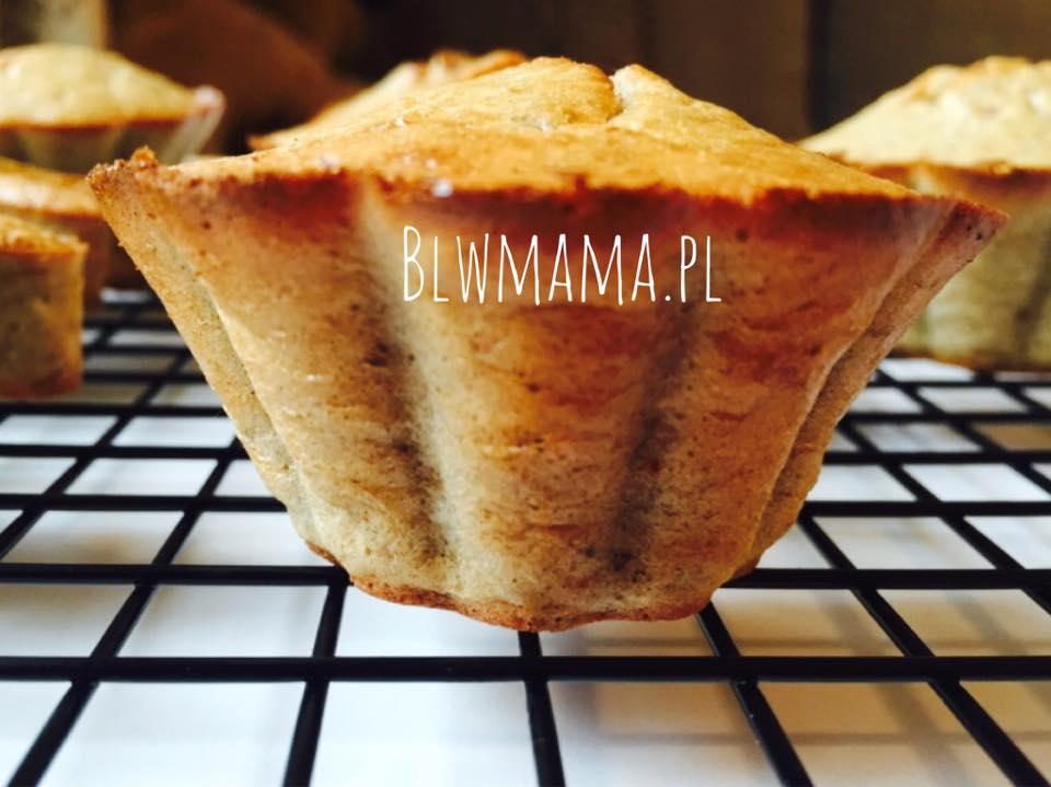 Muffinki bananowo – owsiane.