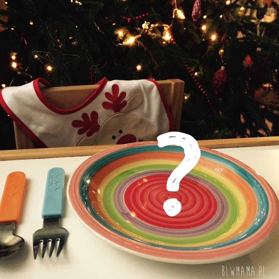 Świąteczny jadłospis Filipka. BLW