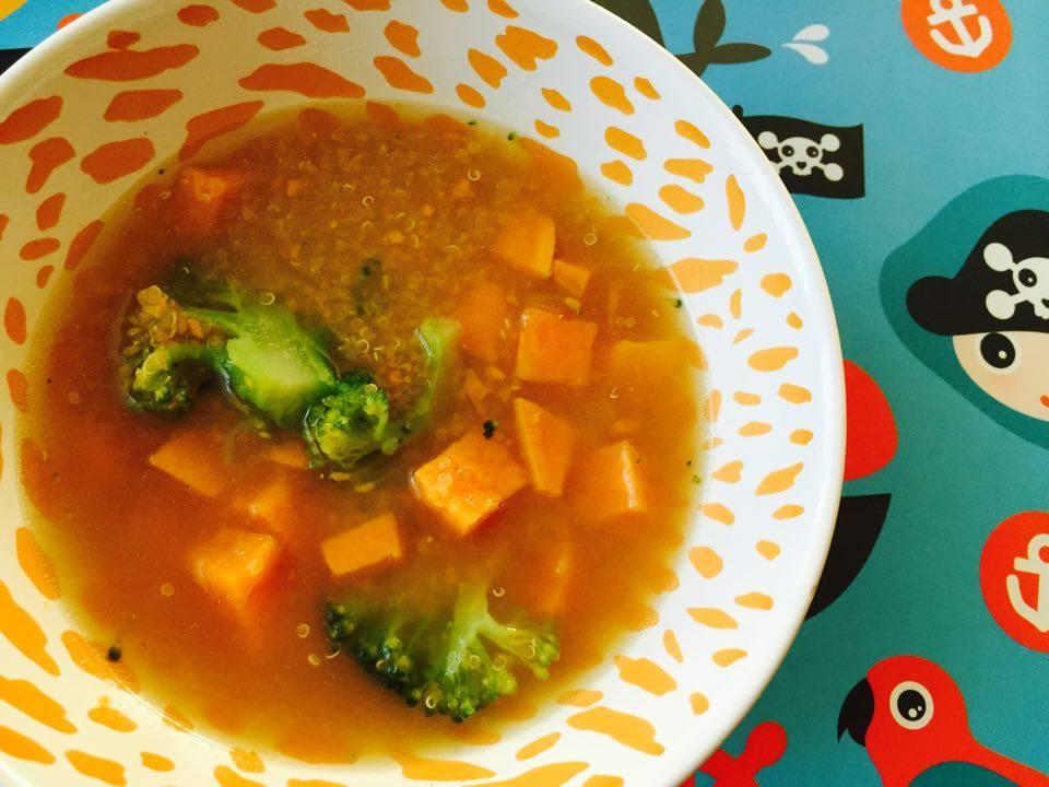 Zupa jarzynowa z komosą ryżową. BLW