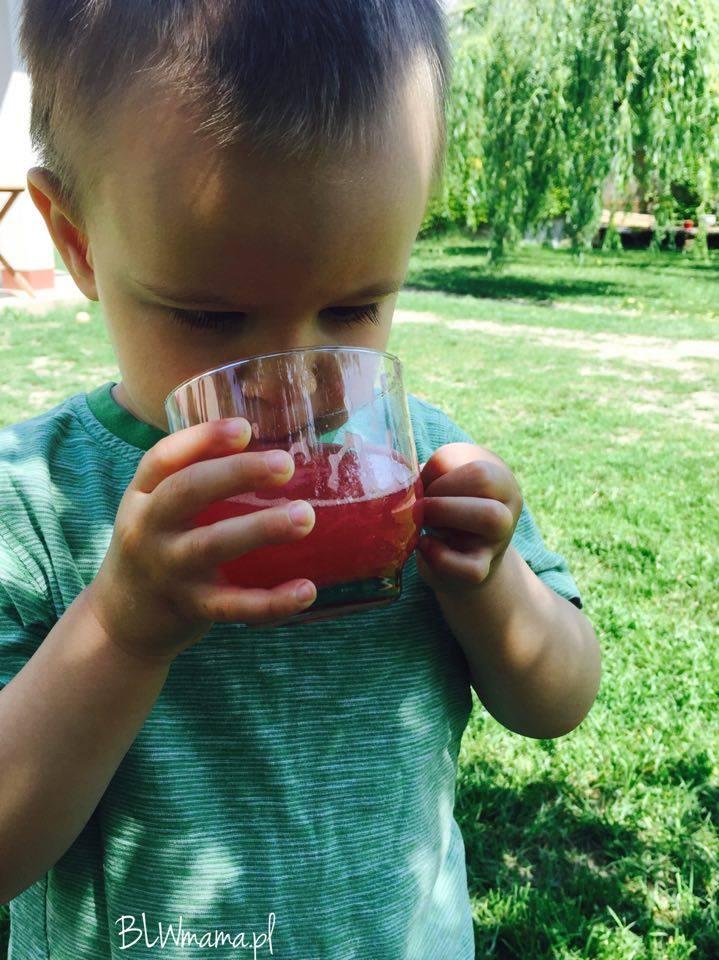Letnie orzeźwienie czyli pyszne wody smakowe. BLW