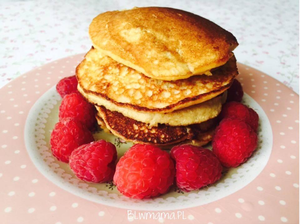 Banana – coconut pancakes. Flourless & paleo. BLW
