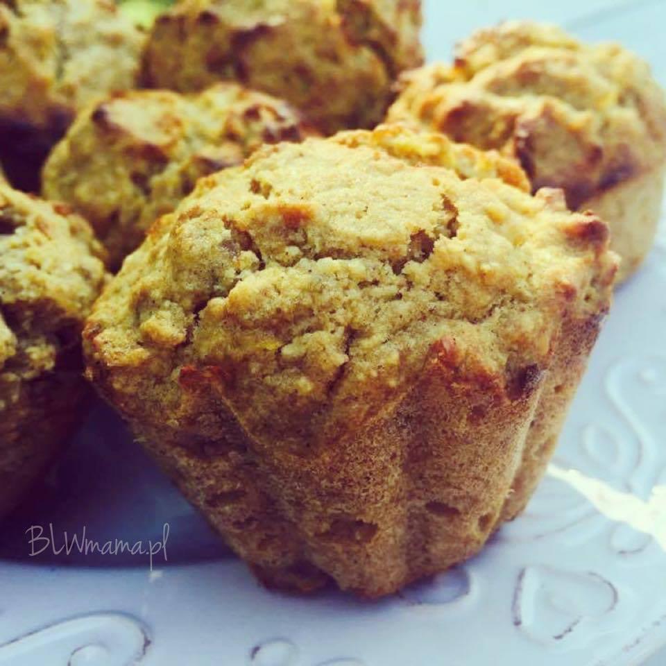 Muffinki rodzynkowo – dyniowe. BLW