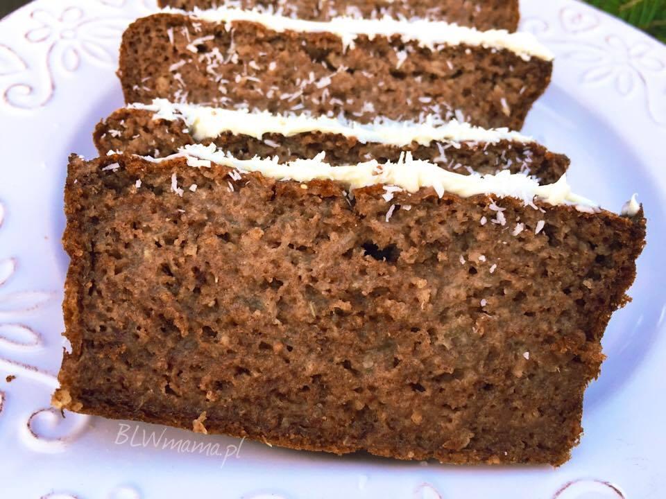 Ciasto daktylowo – gruszkowe. BLW