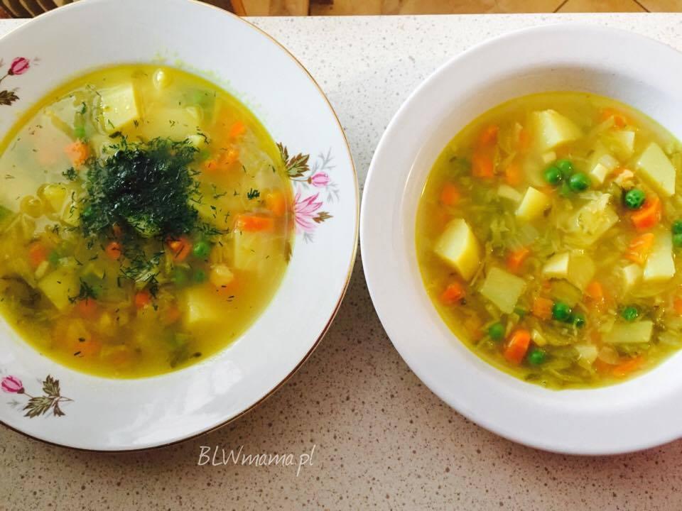 Zupa ogórkowa. BLW