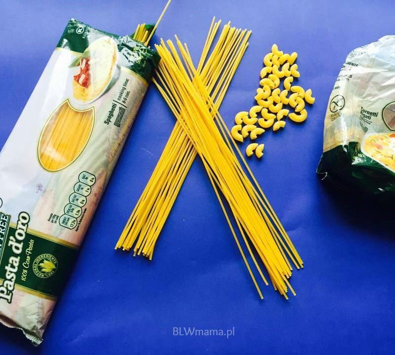 Alternatywa do pszennych makaronów. BLW
