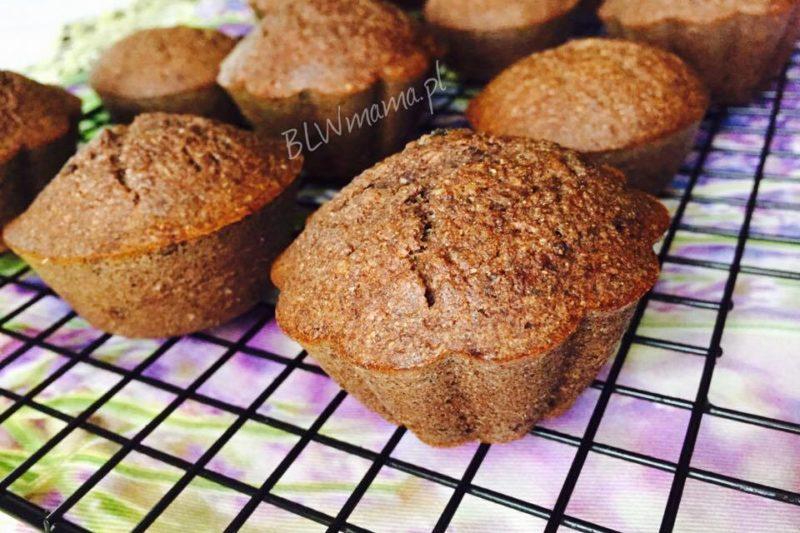 Muffinki daktylowo – gryczane. BLW.