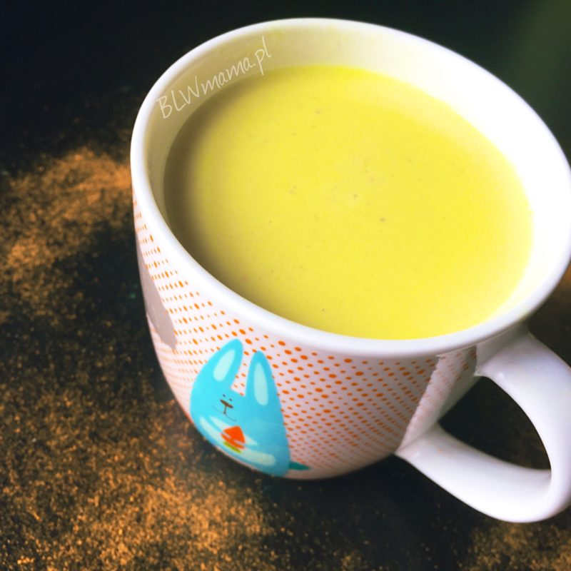 Złote mleko na odporność. BLW