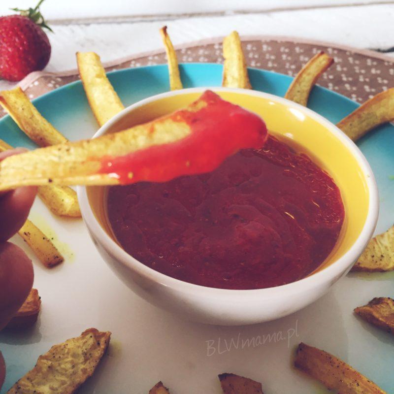 Dressing truskawkowy: do sałatek czy jako dip. BLW