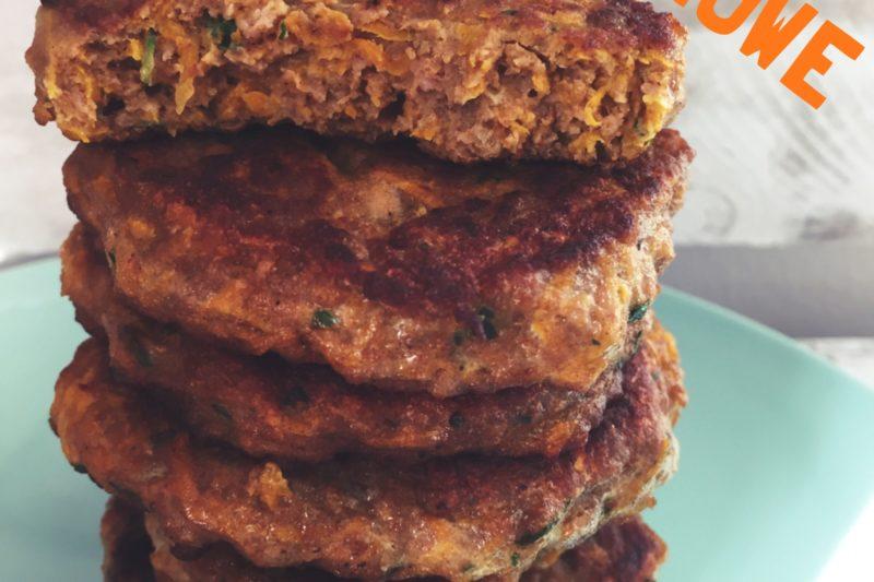 Delikatne burgery z indyka. BLW