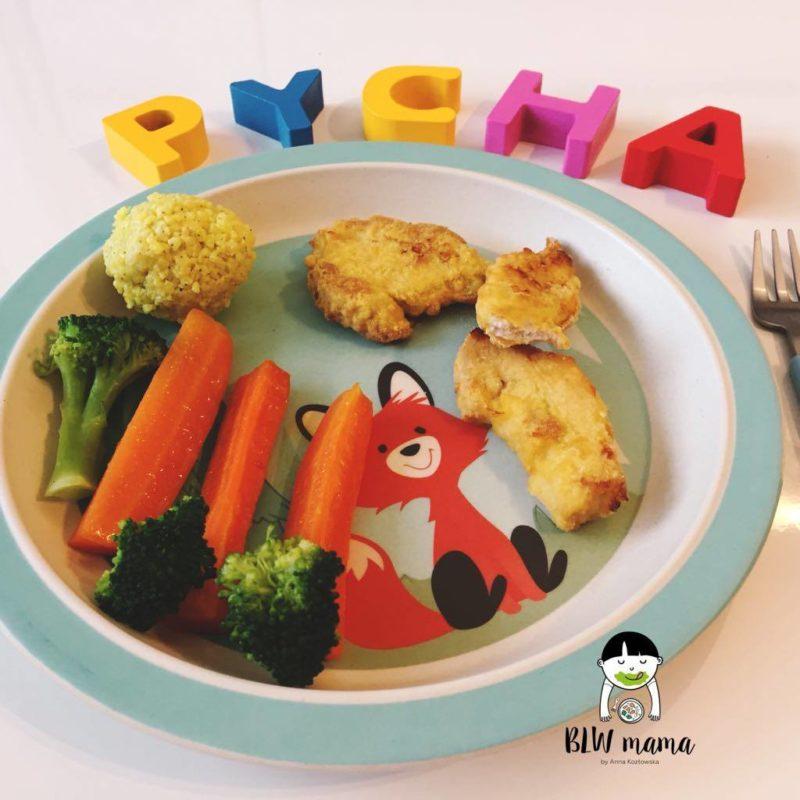 Cytrynowy kurczak zagrodowy – soczyste NUGGETSY lub jaglane pulpeciki dla bezzębnych. BLW