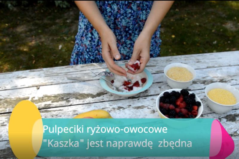 Kupna kaszka? Można taniej i zdrowiej! Plus przepis na owocowy pulpecik do małej rączki.