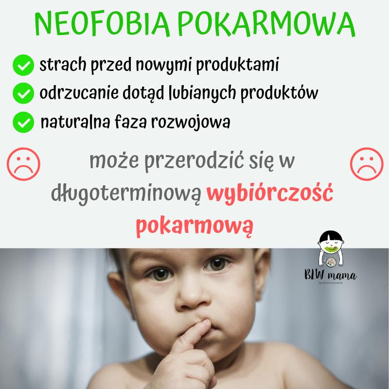 Twoja reakcja na neofobię ma znaczenie. Neofobia pokarmowa cz.1